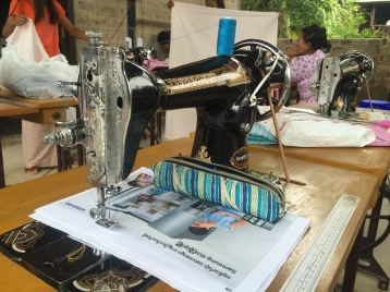 All advanced sewing training graduates are provided with a sewing machine and other tools of the trade to start their own businesses