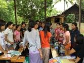 Vocation training workshop in progress