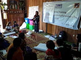 Sharing perspectives at the IRC's GBV Survey training