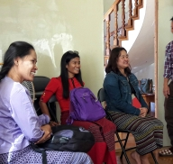 KNWO and Mon Women Organization paid a visit to the IRC