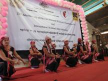 Traditional performances during the ceremony